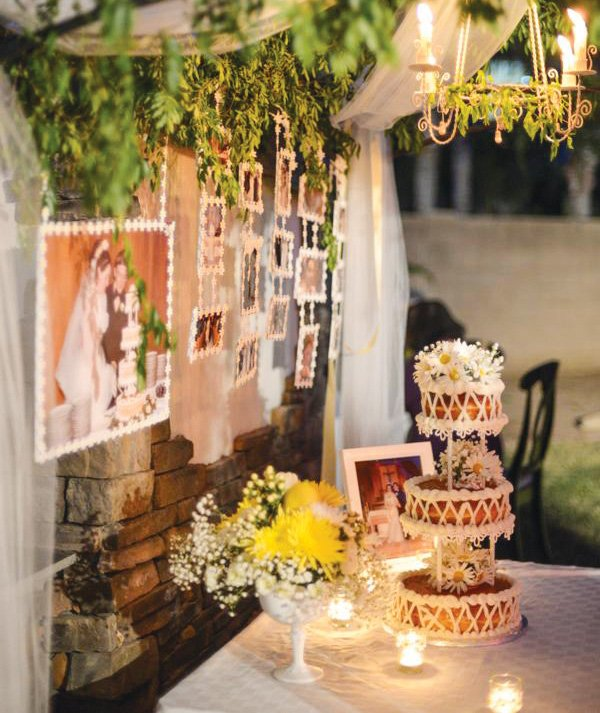 40th wedding anniversary backyard garden party for 40th wedding anniversary decoration ideas