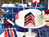 patriotic layer cake