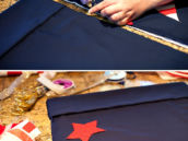 patriotic gunny sack diy tutorial