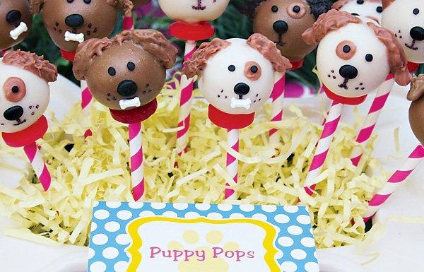 dog cake pops