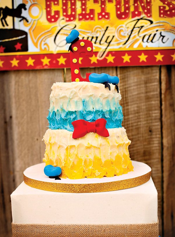 donald duck birthday cake