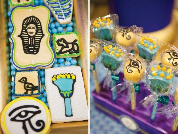 Hieroglyphic cookies