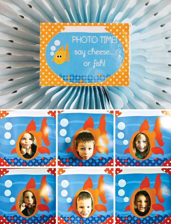 fish photo booth