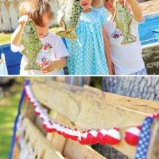 Fishing Theme Birthday Party Ideas