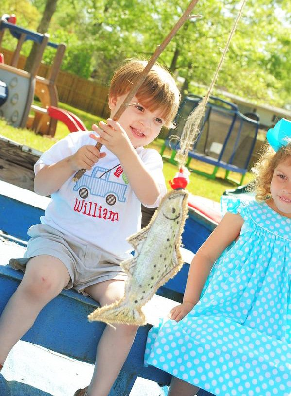 Fishing party activity ideas