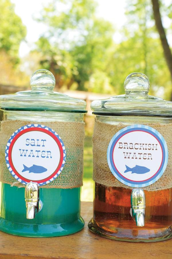 Fishing Party Drink Ideas