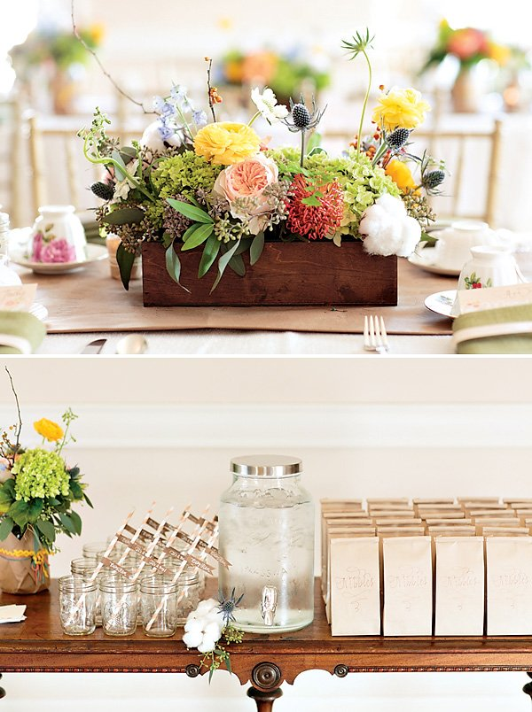 Gorgeous vintage inspired baby shower hostess with the