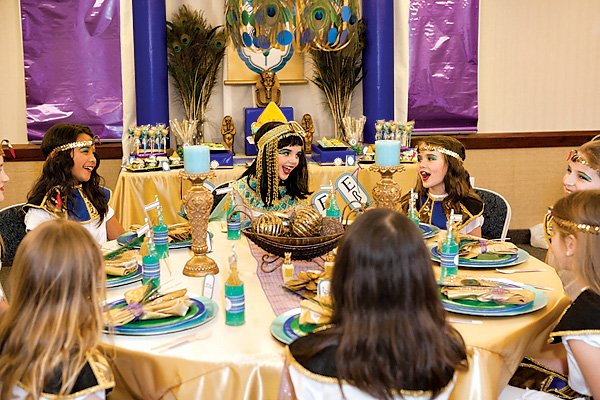 Girls Egyptian Spa Party