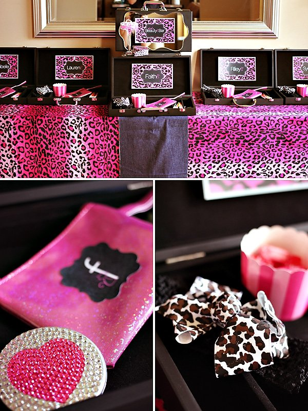 pink cheetah fabric