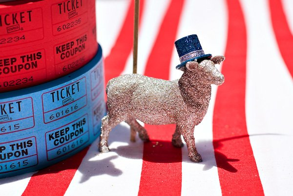 Glittery Party Sheep