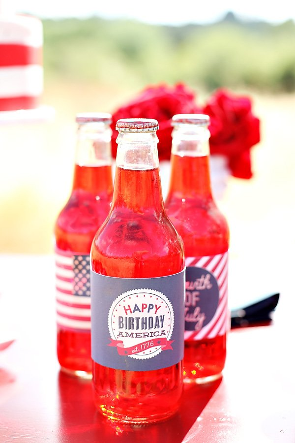 Happy Birthday America party printables
