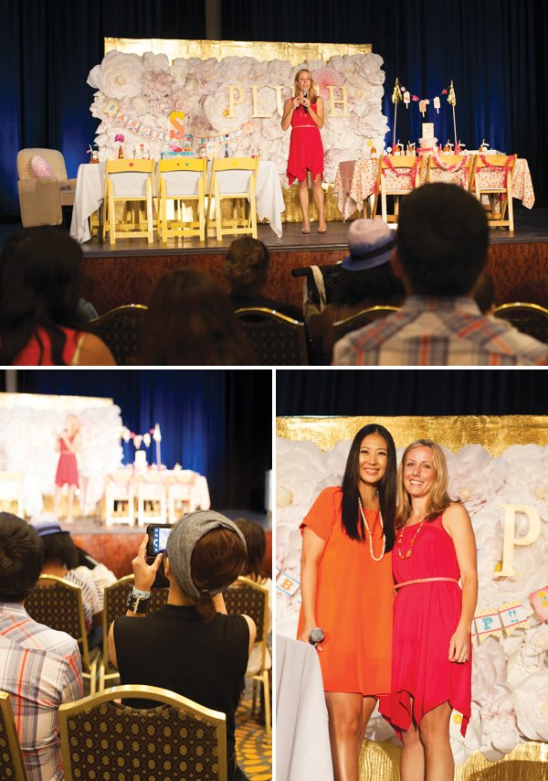 jennifer sbranti speaker at the 2013 plush event