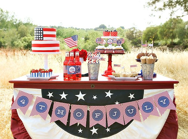 4th of July dessert table ideas