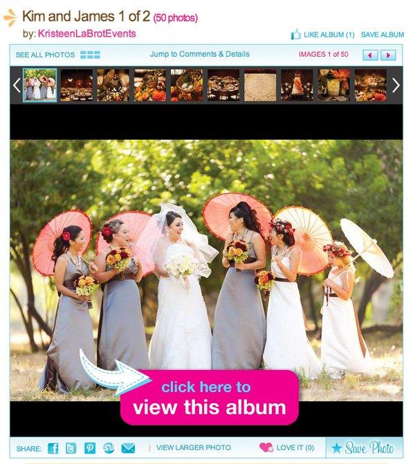 Kim and James Romantic Bird Themed Wedding Album
