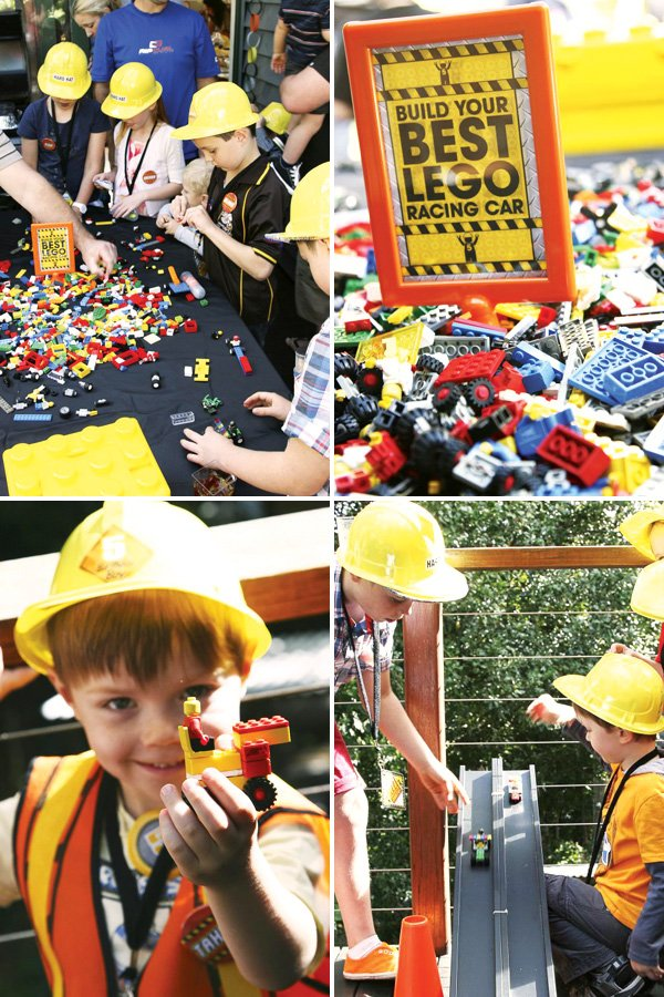 Build Your Own Lego Race Car Activity