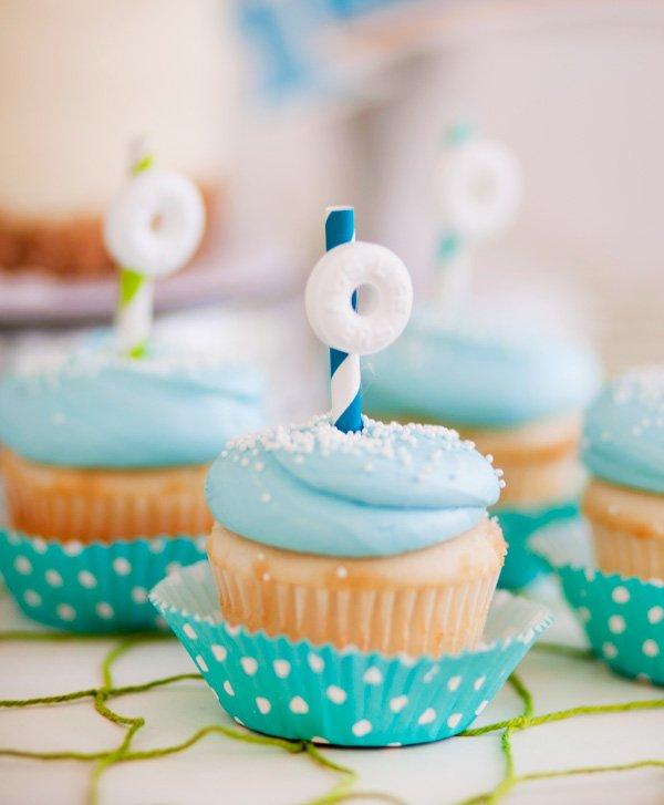 lifesaver sailboat cupcake toppers