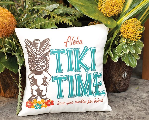 Luau pillow