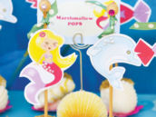 Marshmallow Mermaid Pops
