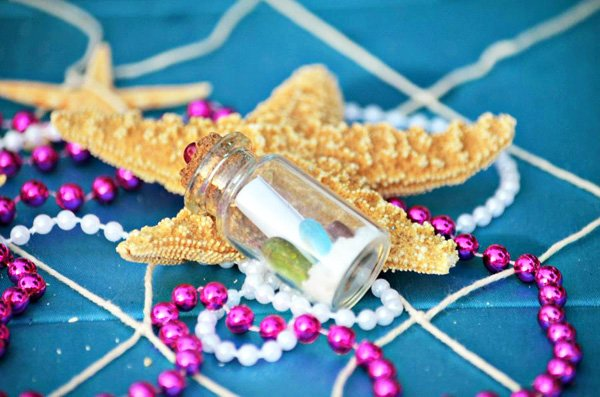 Message in a Bottle Party Favor