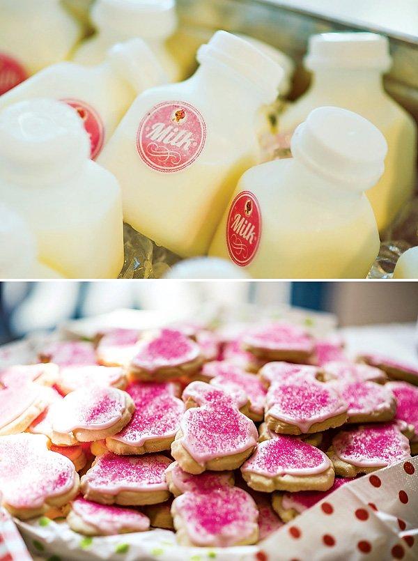 Vintage Milk & Cookies