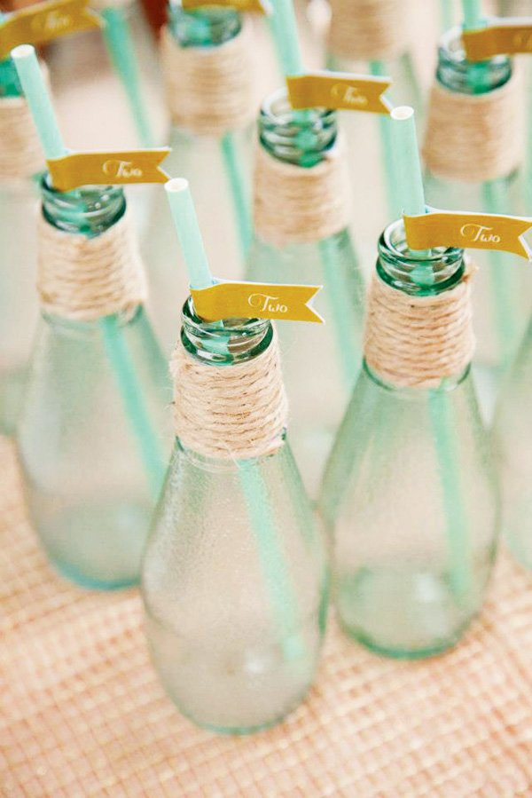 mint green party drinks