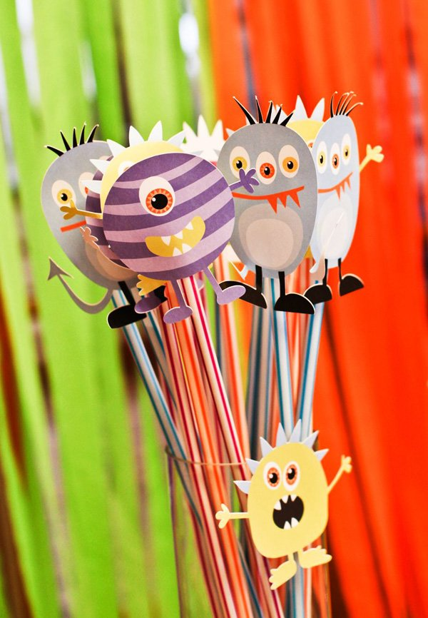 monster candy toppers