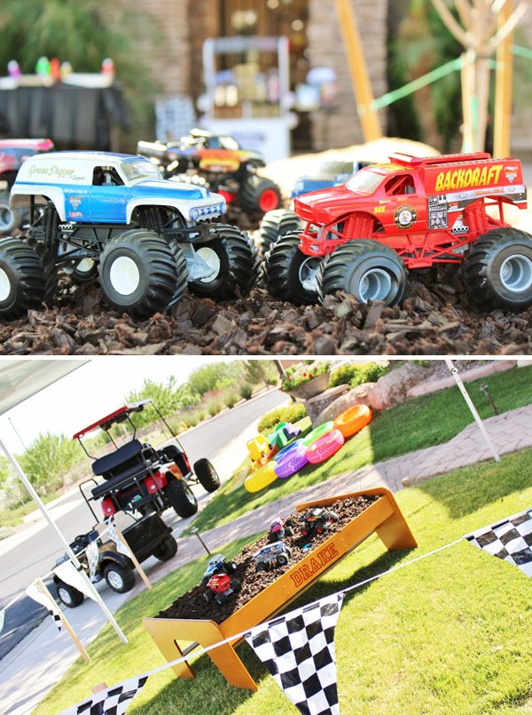 Awesome Monster Jam Truck Party! {Boys Birthday} // Hostess with the ...