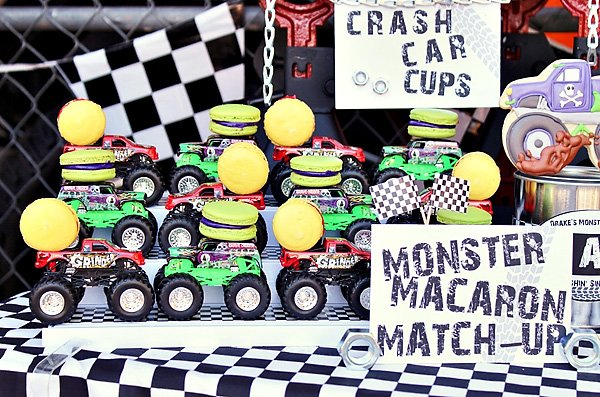 Awesome Monster Jam Truck Party Boys Birthday