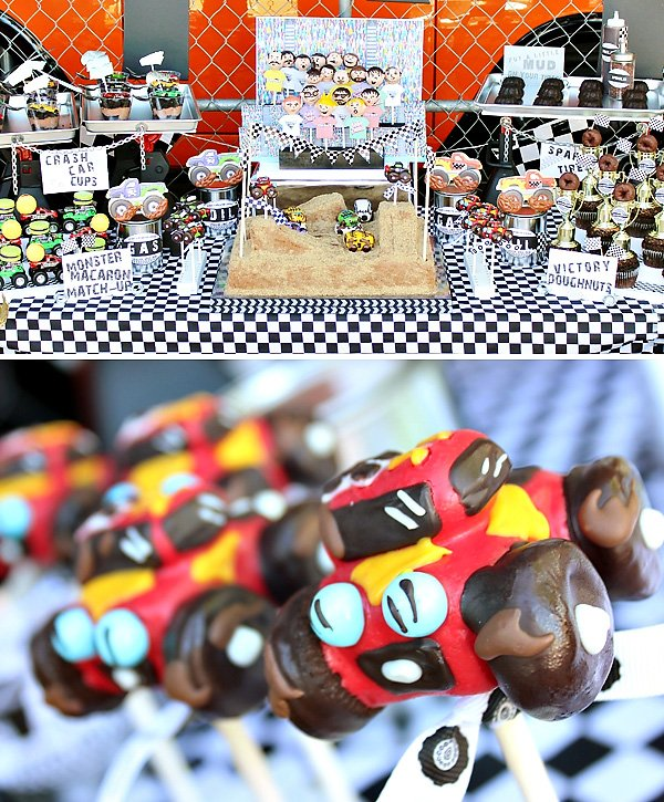 monsterjam truck desserts