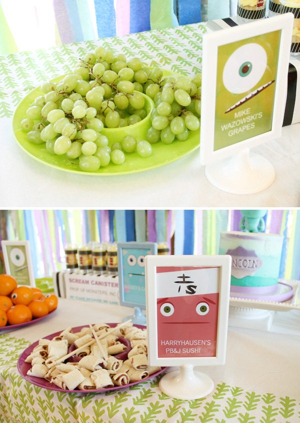 Monsters Inc Themed Birthday Party Hostess With The Mostess