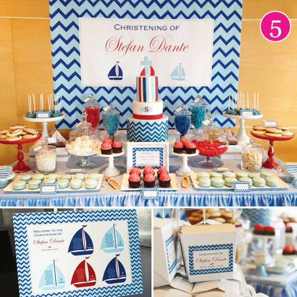Nautical Dessert Table Ideas