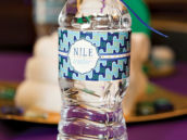 """Nile Water"" Water bottle wrappers"