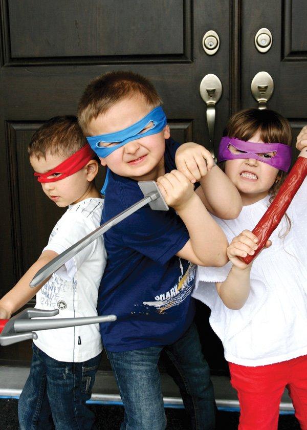 ninja turtle masks
