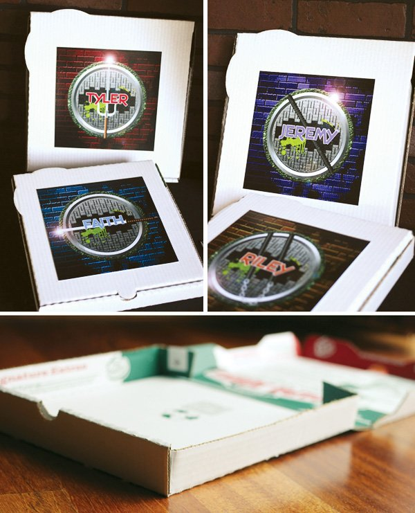 ninja turtle pizza favor box