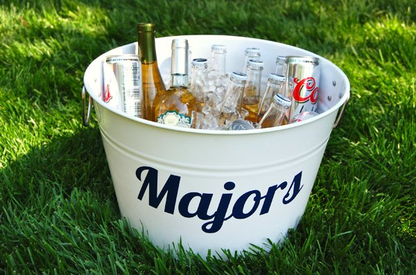 "Adult Beverage ""Majors"" Bucket"