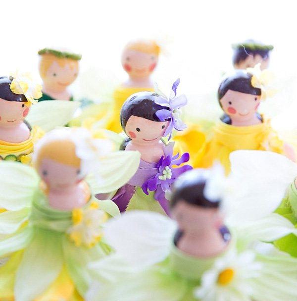 Diy Tutorial Wooden Peg Fairy Dolls Hostess With The Mostess