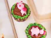 little pig cupcakes