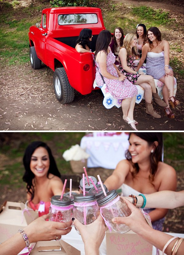 pick up truck party ideas