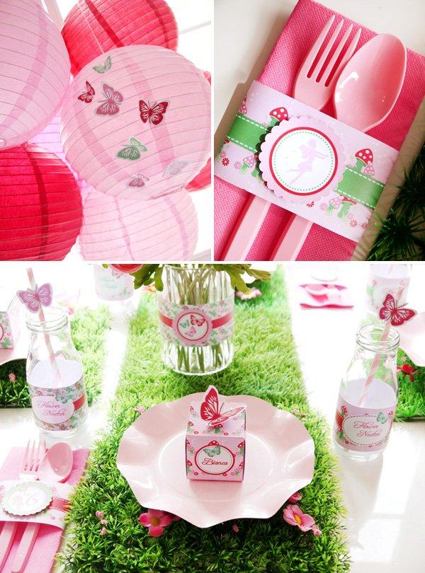 Pink Pixie Party Ideas