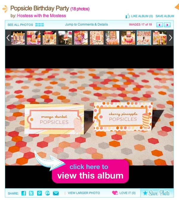 popsicle party album