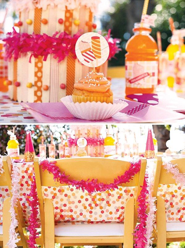 girls summer popsicle birthday