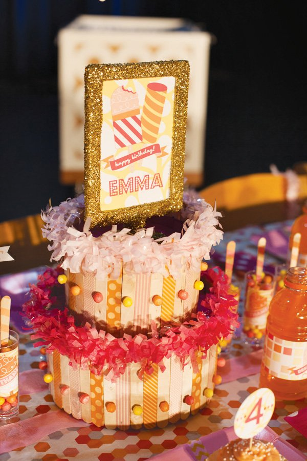 popsicle stick cake
