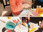 kids popsicle stick craft activity