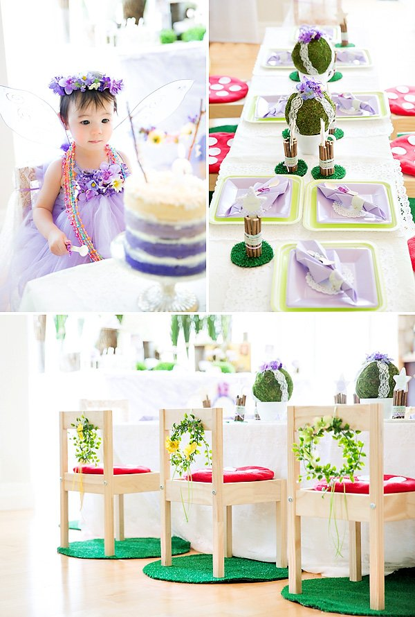 woodland fairy party ideas