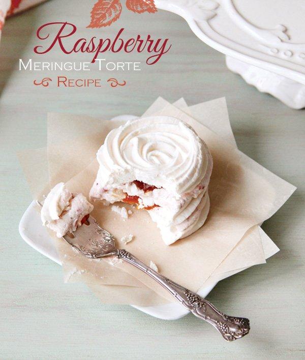 raspberry meringue torte recipe