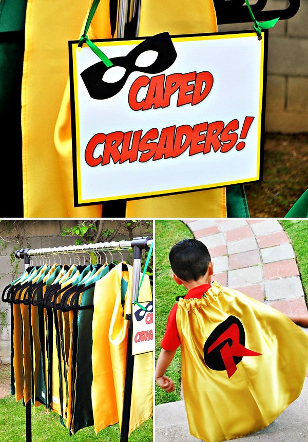 robin the boy wonder party costumes
