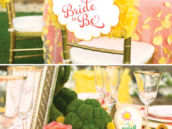 ruffle bridal shower ideas