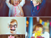 Cute Vintage Birthday Party Kid Photos