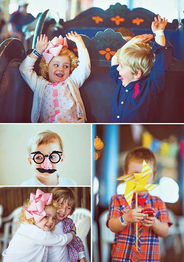Cute Vintage Birthday Party Kid Photos