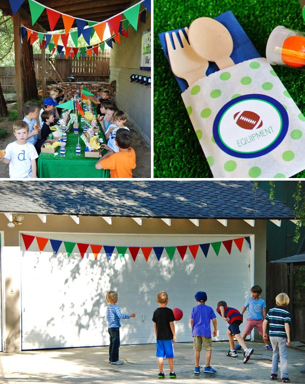 Sporty Birthday Party